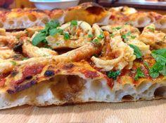 Pizza alta idratazione con trippa alla romana            la ricetta....http://laconfraternitadellapizza.forumfree.it/?t=74007297