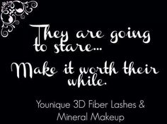 www.youniqueproducts.com/3Dsexylashes.  Add me to Facebook: https://www.facebook.com/jstonemitchell