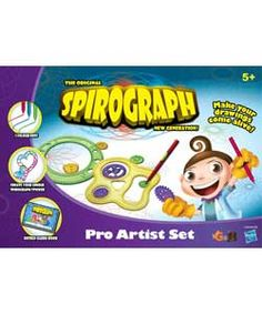 Buy Spirograph Pro Artist Set at Argos.co.uk, visit Argos.co.uk to shop online for Arts, crafts and creative toys