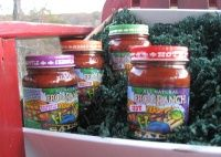 The Frog Ranch Sampler Gift Box: various salsa flavors to spice up your next party