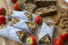 Raw granola bars – just 4 ingredients needed!