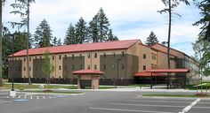 If I was to realize new buildings I should have to have new technique. I should have to design buildings that they would not only be appropriate to materials but design them so the machine that would have to make them could make them surpassingly well. – Frank Lloyd Wright | Project: Stryker Barracks, Fort Lewis, WA