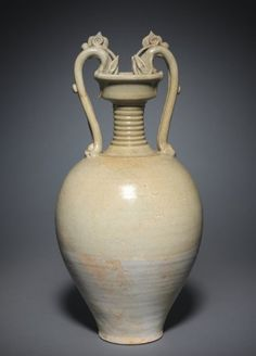 Jar with Dragon Handles, 581-907 China, Sui dynasty (581-618) - early Tang dynasty (618-906)