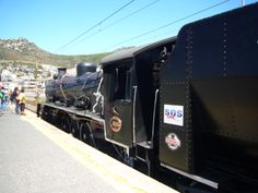 Steam train trip from Cape Town to Simonstown. Train Trip, Train Travel, Great Places, Places To See, Beautiful Places, South African Railways, Trains, Old Steam Train, Story People