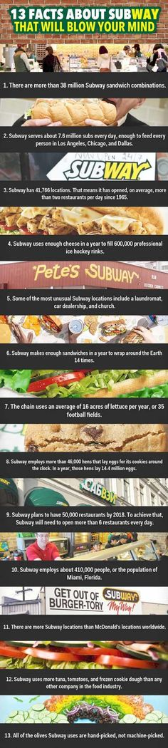 13 Mind Blowing Subway Facts!