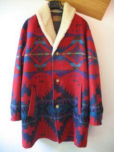 Pendleton Blanket Jacket -