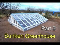Friendly Aquaponics Solar Greenhouse Plans - YouTube