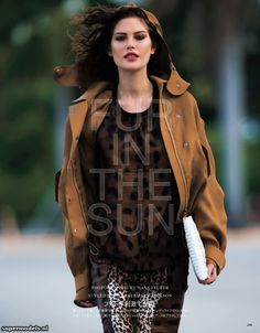 Supermodels.nl Industry News - Catherine McNeil in 'Fur In The Sun'...
