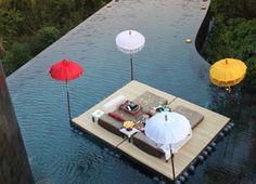 Floating Water Bale - Ubud Hanging Gardens, Bali, Indonesia