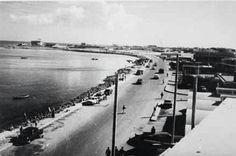 الكورنيش قديما -قطر