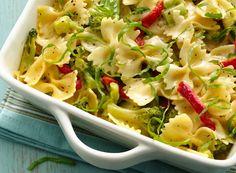 Recipe Blog Share: Cheesy Bow Ties and Broccoli Alfredo