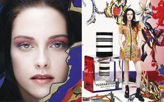 """Kristen Stewart foi convidada pela Balenciaga para ser o rosto do perfume Florabotanica. A atriz, que já era muito fã da grife, adorou o convite. """"Nunca tinha usado um perfume que gostasse e achei muita sorte eu ter gostado dessa fragrância. É muito natural, viva e sexy ao mesmo tempo"""", contou ao site """"WWD""""."""