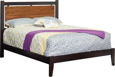 Amish Berkeley Panel Bed You'll love this panel headboard tucked in a contemporary frame.