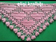 Crochet Lace Scarf, Crochet Cord, Filet Crochet, Basic Hand Embroidery Stitches, Crochet Stitches, Unique Crochet, Cute Crochet, Crochet Designs, Crochet Patterns