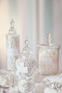 Wedding favor idea - candy bar