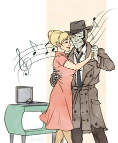 My Sole Survivor was a ballroom dancing instructor before the war. I figured if any of the companions could already dance, it'd be Nick. Fallout 4 New Vegas, Fallout 4 Nick Valentine, Fallout Fan Art, Scrolls Game, Fall Out 4, Ballroom Dancing, Dance, Bioshock, Elder Scrolls