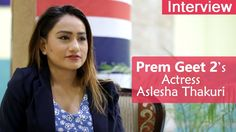 Nepali Movie Prem Geet 2 | Interview with Aslesha Thakuri | Nepali Actress
