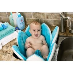 Blooming Bath Turquoise Baby Bath : Target Mobile