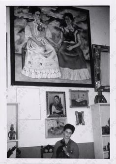 LA CASA AZUL. #Frida y las dos Fridas