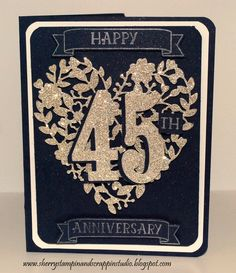 45th Wedding Anniversary I Made For A High School Girlfriend And Her Husband