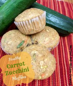 Healthy Carrot Zucchini Apple Muffins The Baby Bump Diaries Apple Zucchini Muffins, Zucchini Muffin Recipes, Carrot Recipes, Real Food Recipes, Yummy Food, Carrot Muffins, Healthy Zucchini, Zucchini Cake, Tasty