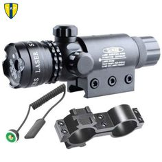 Tactical Laser Mount Green Red Dot Laser Sight Rifle Hunting Airsoftsport Gun Scope 20mm Rail