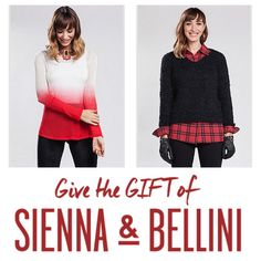 This Holiday, Be Festive and Fashion Forward. SHOP: siennabellini.com.