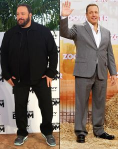 big guy Kevin James wears it well. Chubby Men Fashion, Large Men Fashion, Mens Fashion, Fashion Fall, Big Guys, Tall Guys, Nick Wooster, Big And Tall Style, Hollywood Stars