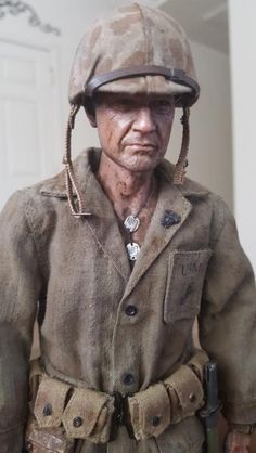 The Battle for Bloody Nose Ridge- Peleliu Us Marines Uniform, Military Action Figures, Military Diorama, Miniature Figurines, Figure Model, Toy Soldiers, Gi Joe, Ww2, World War