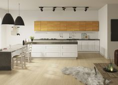 Model Cortina Kitchen Cabinets, Home Decor, Decoration Home, Room Decor, Kitchen Cupboards, Interior Design, Home Interiors, Kitchen Shelves, Interior Decorating