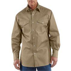 878627611b8 S209 Carhartt Men s Ironwood Twill Work Shirt Long Sleeve Shirts