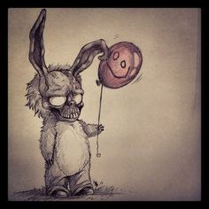 FANART--Frank The Bunny- by oomizuao.deviantart.com on @deviantART