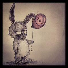 FANART--Frank The Bunny- by oomizuao.deviantart.com on @deviantART
