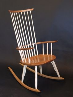 This Is Timothy Clarku0027s Latest Rocker Design And Is A Culmination Of All Of  His Chair Making Experience. It Has The Clean Lines Of His Cod Rib Chairs  With ...