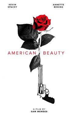 Minimalist Movie Poster: American Beauty by Igor Ramos