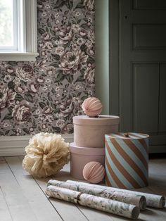 Tapetkollektionen Newbie – A Wallpaper Fairy Tale A N Wallpaper, Baby Gym, Baby Bedroom, Bedroom Vintage, Fairy Tales, Pastel, Nursery, Throw Pillows, Interior
