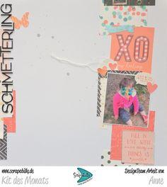 Bunterpinguin: Scrapbooklayout für Scrapabilly mit Photo Play Paper