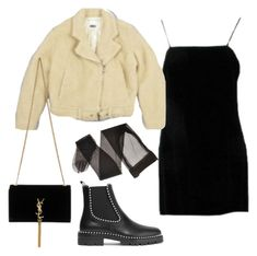 """""""Untitled #5670"""" by lilaclynn ❤ liked on Polyvore featuring Alexander Wang, Yves Saint Laurent, YSL, AlexanderWang, saintlaurent and yvessaintlaurent"""