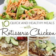 I love sharing quick and easy dinner ideas for busy families. Check out my post, 10 Quick and Easy Dinners You Can Make With Rotisserie Chicken!