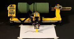 Lego Mindstorms Lathe