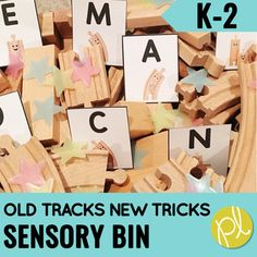Are you looking for new ways to incorporate hands-on sensory play in your classroom? Imagine adding these train themed sensory bin activities to this innovative favorite read aloud Old Tracks New Tracks by Jessica Petersen. Sensory Bin Stories are based on favorite read aloud books and characters w...