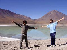 Con Maurito - Salar de Uyuni, Bolivia - 2008