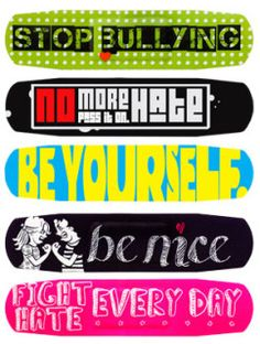 Amazing kids bandages from Ouchies : Anti-Bullyz collection in partnership with D. Don't you think these should be in every church First Aid kit and school nurse office? Nurse Office Decor, School Nurse Office, Nurse Decor, School Nursing, Bullying Lessons, Stop Bullying, Online Dares, Stone Quotes, Nurse Love