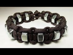 """How You Can Make A Simple Hex Nut Paracord Survival Bracelet"" - YouTube"