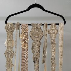 Bridal Belts! Wedding and accessory belts from Alta Moda.