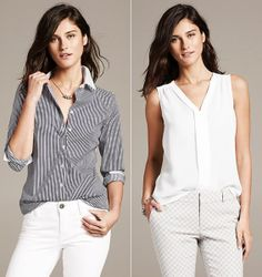 """Banana Republic"" spring colection Daily Look, Banana Republic, Spring, Tops, Women, Fashion, Moda, Women's, La Mode"
