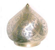 Marokkaanse tafel lamp filigrain