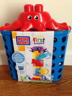 #AD Mega Bloks First Builders Build 'n Splash Giveaway