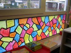 Raamschildering door kinderen Toddler Worksheets, Fun Worksheets, School Painting, Halloween Activities, Art Studios, Art School, Rainbow Colors, Art Lessons, Classroom Organization