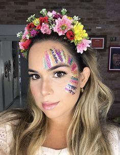 Maquiagem Glitter Carnaval Makeup